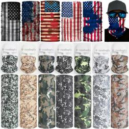 Mens Scarves Face Mask  Neck Gaiter Warm Bandana Balaclava H