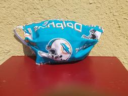 Miami Dolphins Face Mask  NFL Blue Cotton ADULT Men Women Te