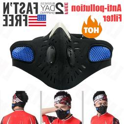 Motorcycle Riding Mask Anti-Fog Sports Air Purifying Mouth C