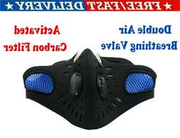 Motorcycle Riding Mask Anti-Haze Sports Air Purifying Mouth