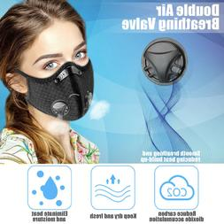 Motorcycle Riding Mask Anti-Haze Sports Air Purifying Face M