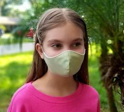 MOUTH COVER BIG KIDS TEENS FACE MASK Breathable Masks Washab