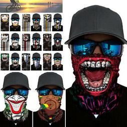 Multi-use Balaclava Half Face Mask Neck Gaiter Headband Tube