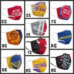NBA Basketball Teams Adults Face Mask Washable Reusable plus