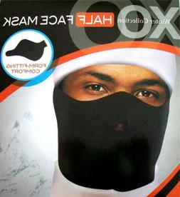 Neoprene Half Cover Black Face Ski Mask Wind Resistant Winte
