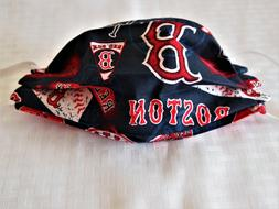 Handmade New England Sports, Bruins, Patriots Face Covering,