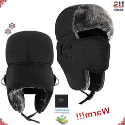 New Mens Winter Warm Russian Hat Trooper Snow Ski Ushanka Wa