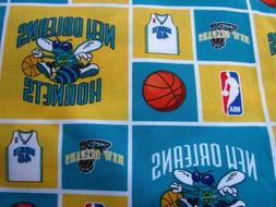 New Orleans Hornets NBA Basketball Sports Team Fabric 3Y Goo