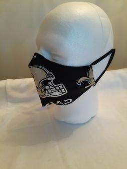 New orleans saints face mask, made in USA reusable washable