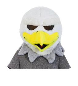 new philadelphia eagles swoop mascot mask breathable