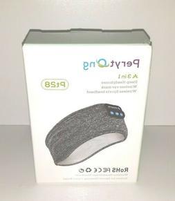 NEW Peryt Ong Pt28 3 In 1 Sleep Headphones Wireless Eye Mask