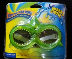 NEW Cabana Sports Swim Mask Goggles Shark Kids Swim Mask Age