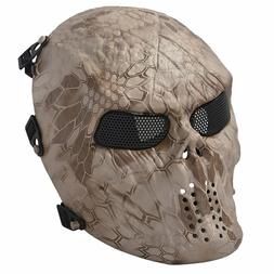 NEW Tactical Airsoft Mask Full Face OUTDOOR SPORTS FREE SHIP