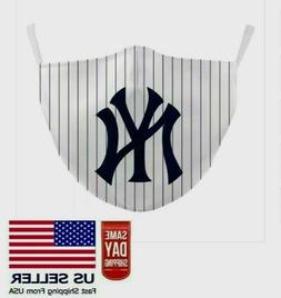New York Yankees Face Mask Adjustable Washable Baseball Fast