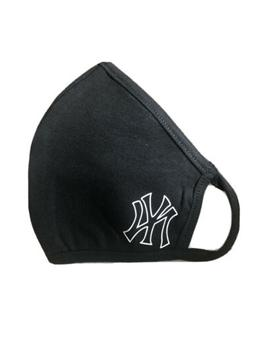 New York Yankees NY Outline Face Mask Reusable Double Layer