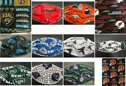 NFL Football Teams Face Mask Washable Reusable In Stock Amis