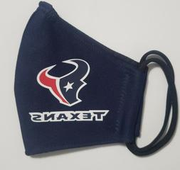 NFL Houston Texans  Face Mask Fabric Washable, Reusable Hand