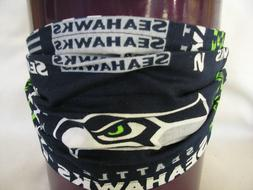 NFL SEATTLE SEAHAWKS NAVY FACE MASK-REUSABLE/WASHABLE