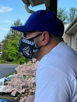 NFL Teams Face Mask  Raiders cowboys patriots Redskins charg