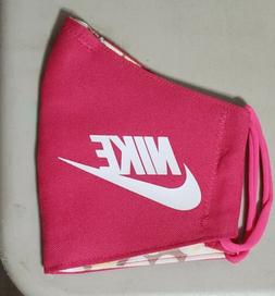 Nike Pink. Face   Mask Fabric Washable, Reusable Handmade Ma