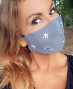 ny yankees face mask baseball mlb team