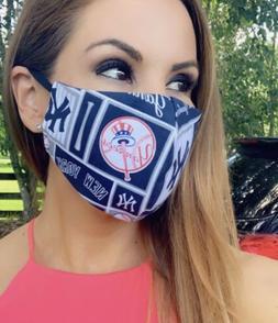 Ny Yankees Face Mask Baseball MLB Team Sports New York facem