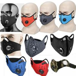 Outdoor Cycling Air Purifying Half Face Mask Cover Haze Fog