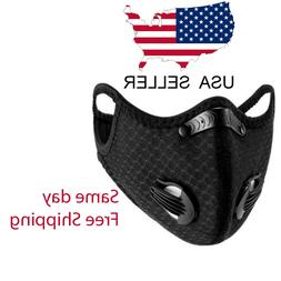 Outdoor Cycling  running  Sport Mask with carbon Filter with