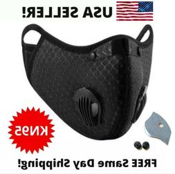 outdoor cycling running sport mask with carbon