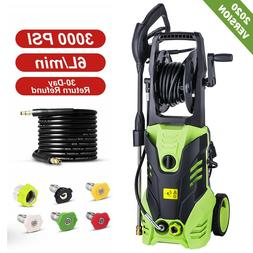 3000PSI 1.8GPM Electric Pressure Washer Powerful Water Clean