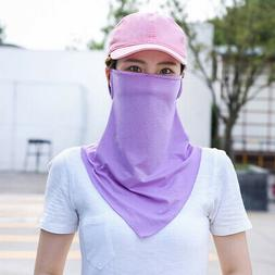 Full Face Mask Outdoor Cycling Sport Breathable Anti UV Sunp