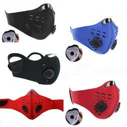 Outdoor Sports Air Purifying Half Face Filter Mask Muffle An