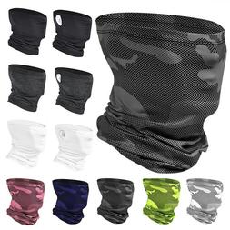 Balaclava Bandana Face Mask Shield Sunscreen Neck Gaiter Sno
