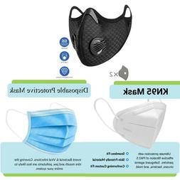 outdoor sports cycling face mask reusable anti