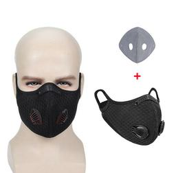 Outdoor Sports Cycling Riding Air Purifying Half Face Mask C
