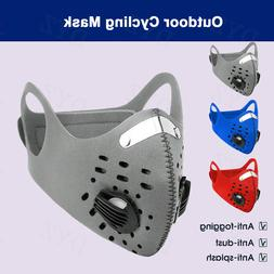 outdoor sports mask activated carbon filter anti