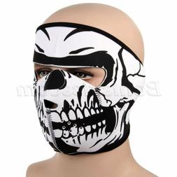 Outdoor Sports Motorcycle Skull Full Face Mouth Mask Facemas