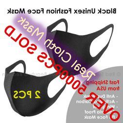 Face Mask  Fashion Face Mask Washable Reusable Unisex Adult