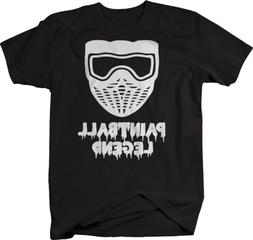 Paintball Legend Mask Sports Tshirt