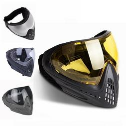 Paintball Mask Airsoft Safety Protective Anti-fog Goggle Ful