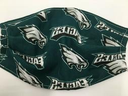 Philadelphia Eagles Face Mask Football NFL Reusable Washable