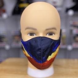"""Philippine Flag """"Artwork"""" Unisex Face Mask Reusable Washable"""