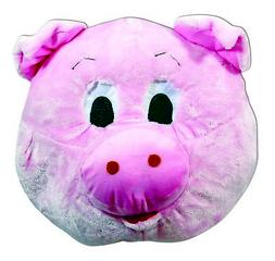 Pig Mascot Animal Head Big Mask School Sports Events Adult C
