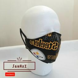 pittsburgh steelers face mask 100 cotton