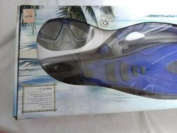 Aqua Lung Proflex Fin & Sports Series Mask & Snorkel Set