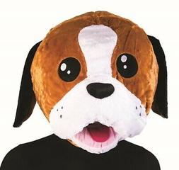 Puppy Dog Mascot Animal Head Mask School Sports Events Adult