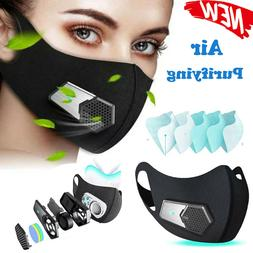 Rechargeable Electric Mask With Respirator Fan USA FAST SHIP