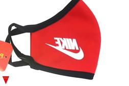Red Nike Face Mask For Men, Women, Adults, Unisex, Sports,