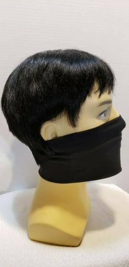 RED Washable Polyester face mask Thin Elasticity sports Outd