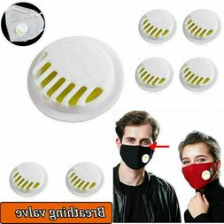Replaceable Face Mask Cover Breathing Valve Filters for DIY